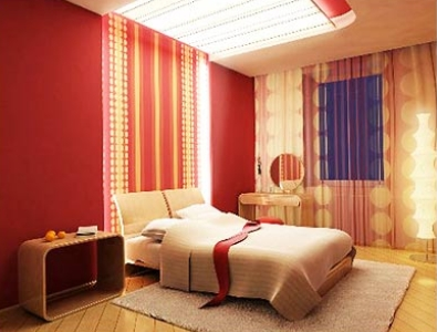 Curtains Ideas cover walls with curtains : Quick Home Improvements: Add Fabric To Your Walls   MattosCo