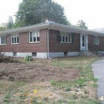 1950's Ranch with brick veneer before